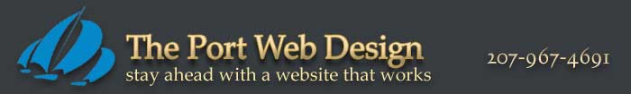 The Port Web Design, Web Hosting, Web development, Maine